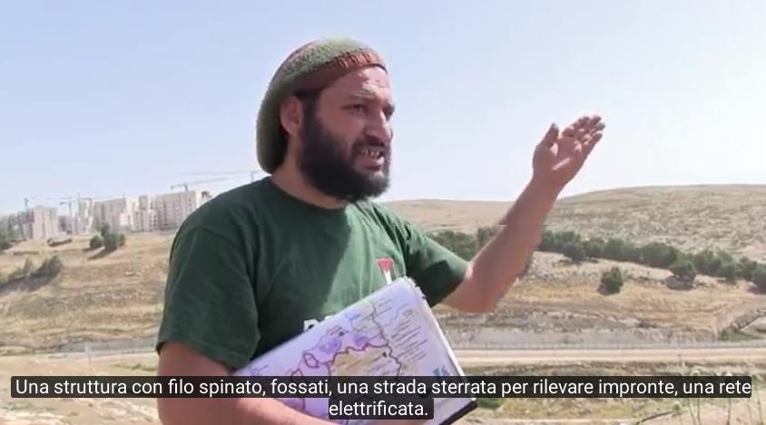 Baha Hilo (To Be There) spiega il muro e gli insediamenti