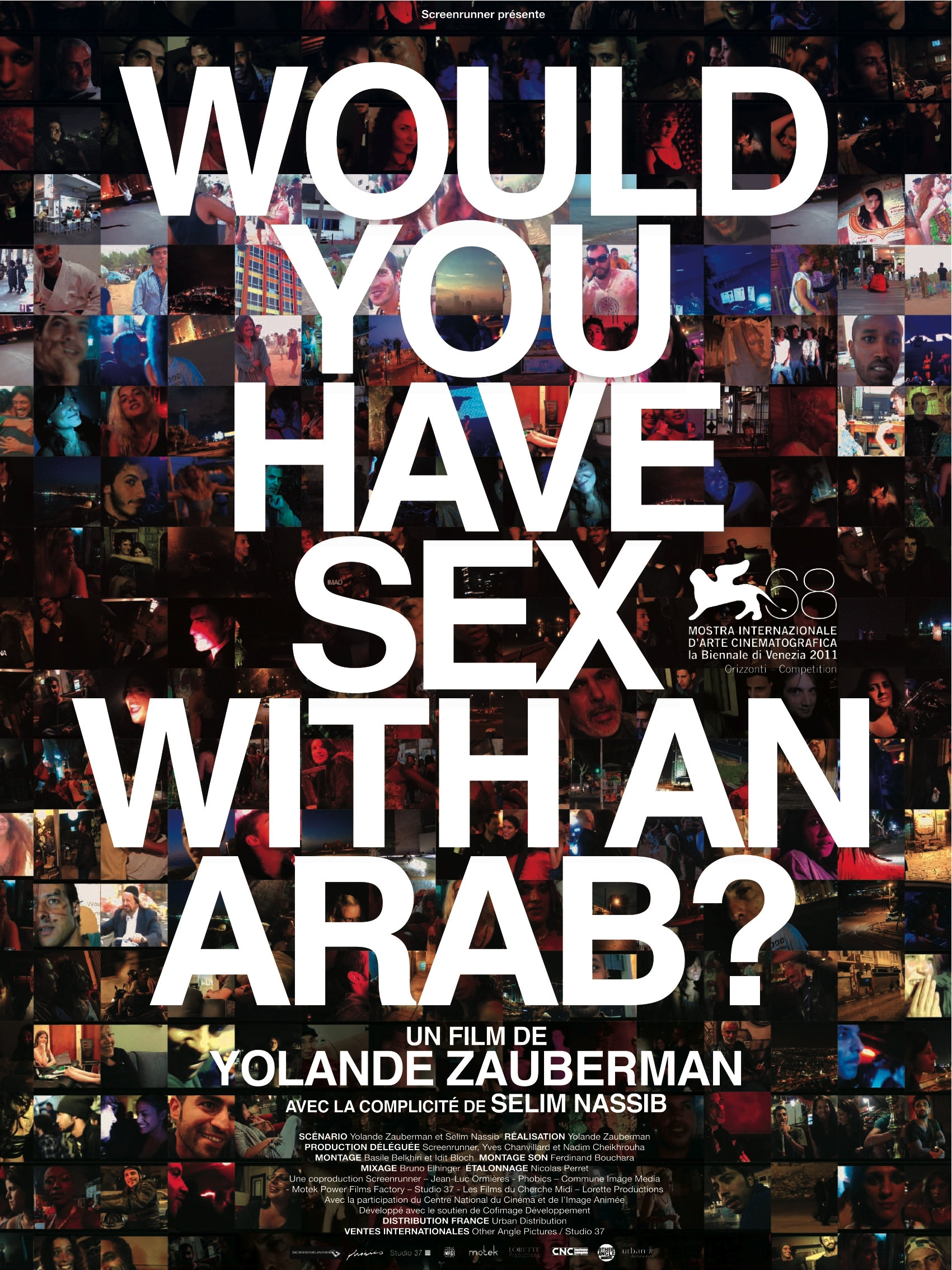 Would You Have Sex With an Arab?,  di Yolande Zauberman (2012)
